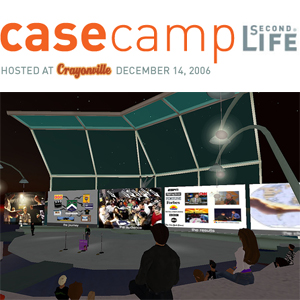 CaseCamp Second Life image and logo